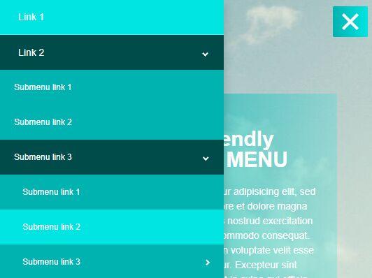 Mobile-friendly Multi-level Dropdown Menu Plugin For jQuery