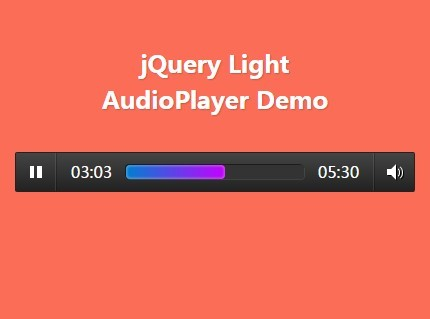 Html audio mp3 player embed