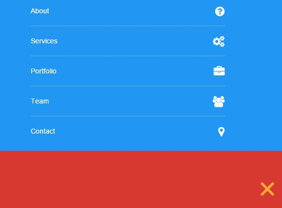 Mobile-first Pull-down Navigation with jQuery and CSS3