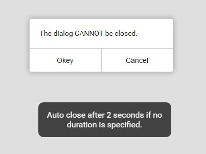 Mobile-friendly Dialog & Toast Plugin With jQuery - alert.js