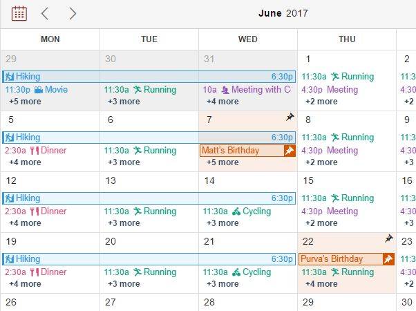 Mobile-friendly Drag'n'Drop Event Calendar Plugin - CalenStyle
