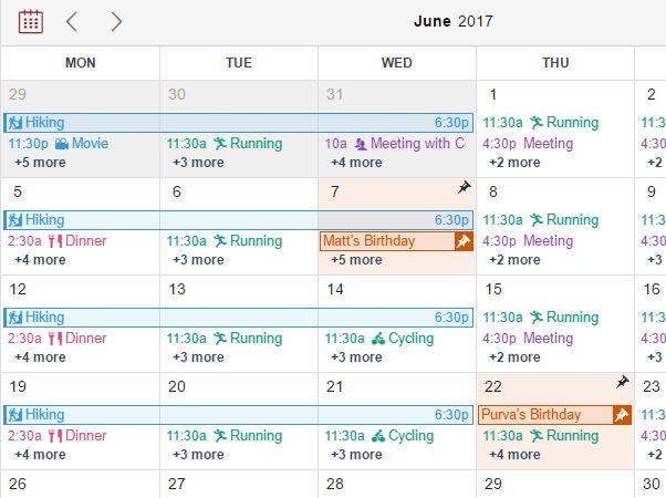 Mobile-friendly Drag'n'Drop Event Calendar Plugin - CalenStyle