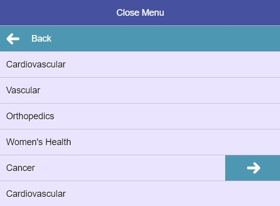 Mobile-friendly Sliding Mega Menu Plugin With jQuery