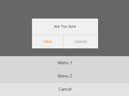 Mobile-friendly jQuery Modal Dialog Plugin - sDialog