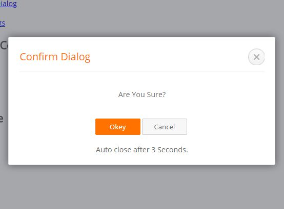 Modal Style Dialog Popup Plugin For jQuery - Dialogx