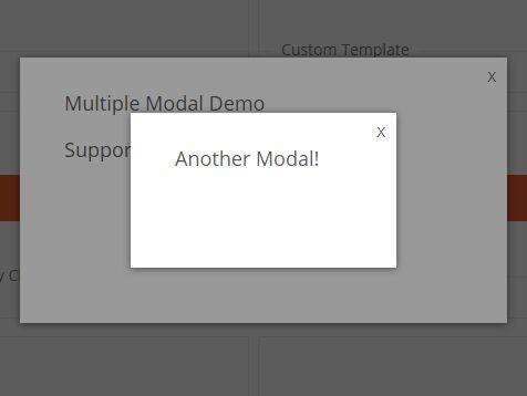 Tiny CSS3 Animated Modal Window Plugin - jQuery CustomModal