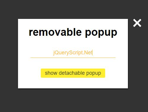 Cross-browser Modal Window With Semantic Template - jQuery Goodpopup