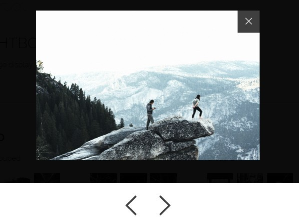 Modern Image Lightbox Plugin with jQuery and CSS3 - Lightbox.js