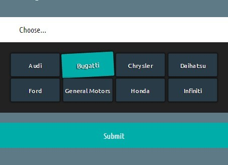 Multi Column Dropdown Box With Jquery And Css3 Multi