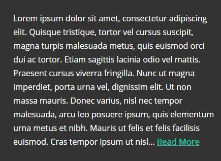 Customizable Multi-line Text Ellipsis Plugin - jQuery vEllipsis