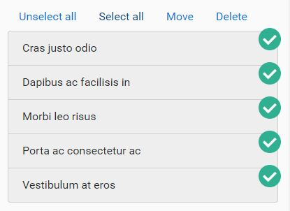 jQuery Plugin For Multi Selectable Elements - selecter