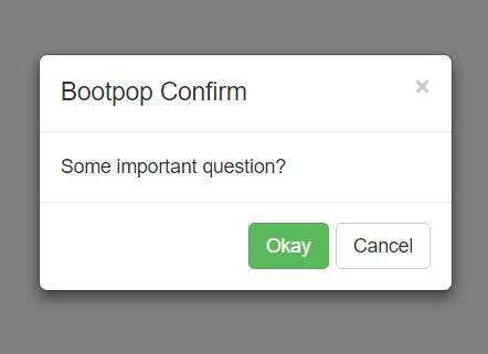 Multi-functional Ajax Enabled Bootstrap Modal Plugin - bootpop.js