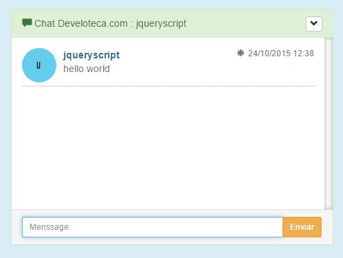 Multi-user Chat Plugin with jQuery and HTML5 - chatSocketAchex