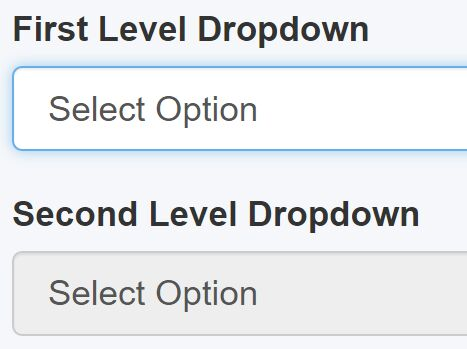 Multilevel Dependent Dropdown Plugin With jQuery - Dependent Dropdowns