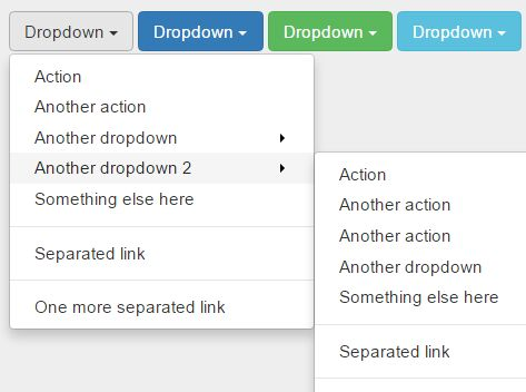Multilevel Dropdown Menu Plugin For Bootstrap - Dropdown On Hover