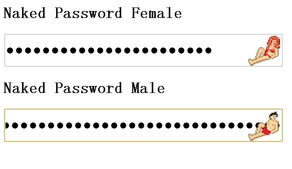 Naked Password Strength Plugin with jQuery