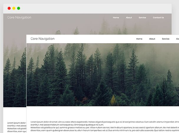 Multi Purpose Navigation Sytem For Modern Web - jQuery Corenav