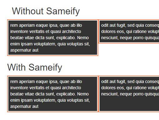 Create Neat Justified Grid Layout With jQuery - sameify