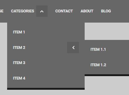 Nested Drop Down Menu Plugin For jQuery - CeNav