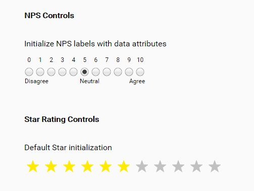 Net Promoter Score Rating Plugin With jQuery - ffrating.js