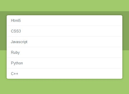 Nice Select Box Replacement with jQuery and CSS