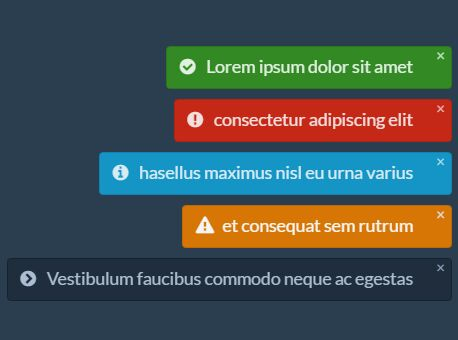 Easy Non-blocking Notification Plugin With jQuery - KanNotify.js