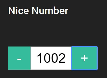Number Input Spinner With jQuery - Nice Number