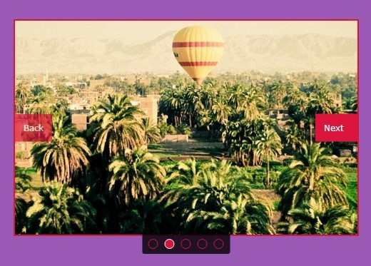 One Element Slideshow Plugin with jQuery and HTML5 - hexSlide