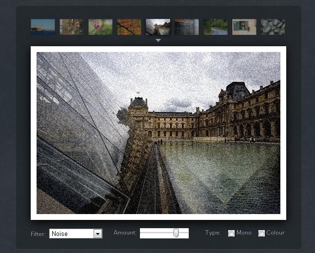 Online Photo Processing JS Library - PaintbrushJS