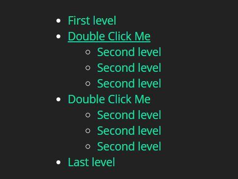 Open A Link On Double Click - jQuery doubleClickToGo js