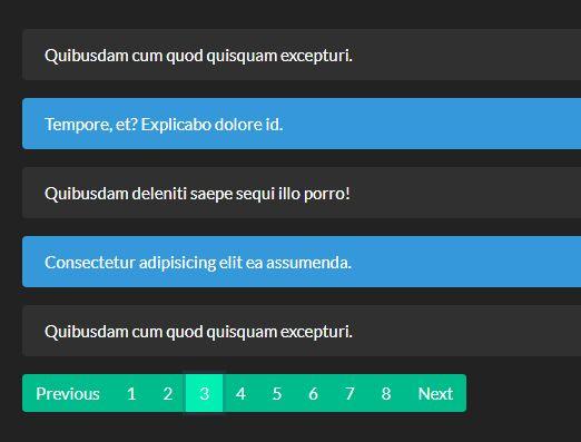 jQuery Pagination Plugins   jQuery Script
