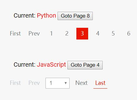 Convenient Pagination Component For Dynamic Content - motypager