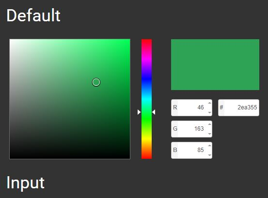 Photoshop-style Full Featured Color Picker For jQuery - wcolpick