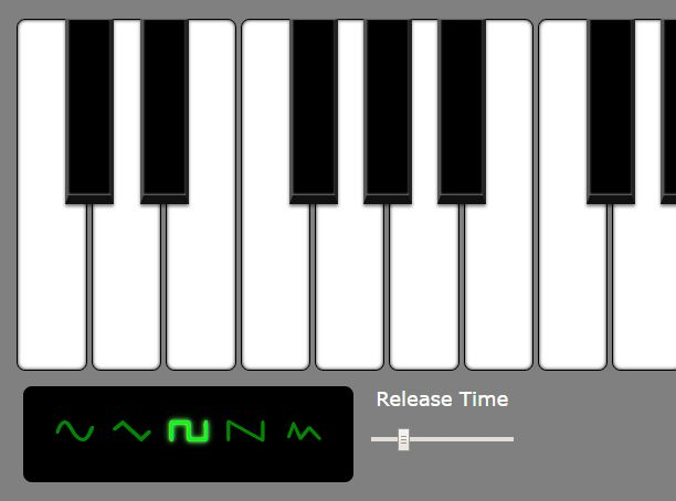 Simple Piano App In jQuery - jsRapPiano