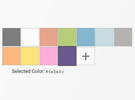 Pick A Color From Preset Color Schemes - color-picker.js