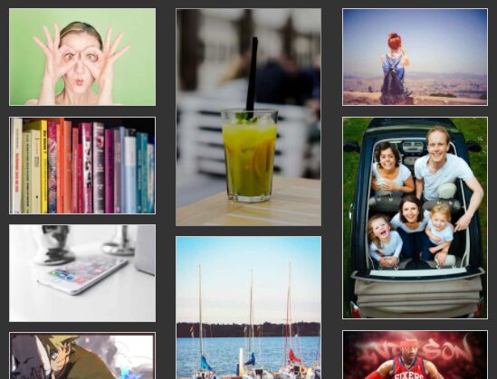Pinterest Inspired Layout With Image Lazy Load - jQuery dnWaterfall