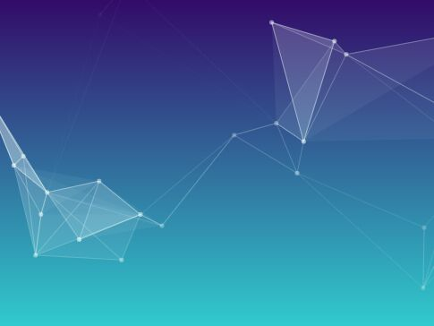 Polygonal Particles Background With jQuery And Canvas - polygonizr