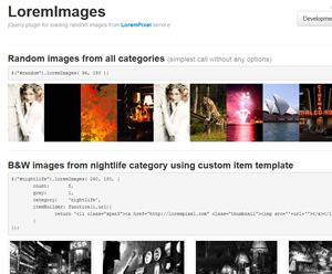 Populating Content With Random Images - LoremImages
