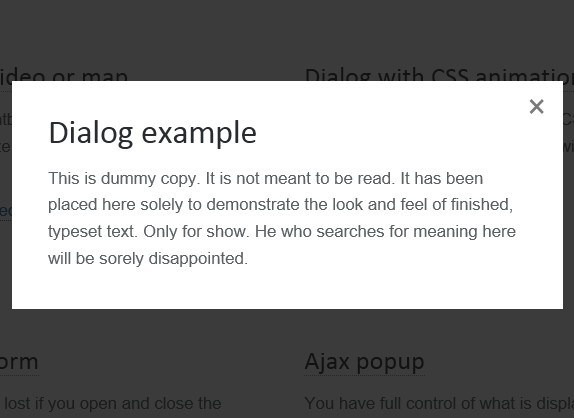 Simple jquery plugin for popup window | free jquery plugins.