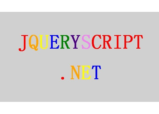 Powerful Web Typography Plugin For jQuery - Lettering.js