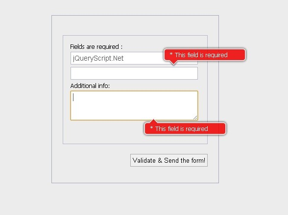Powerful jQuery Form Validation Plugin - Validation Engine