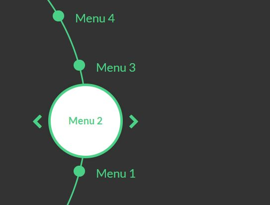 Animated Dynamic Radial Menu Plugin For jQuery - CircleMenu