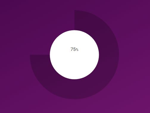Radial Progress Bar With jQuery And SVG - JSRadial