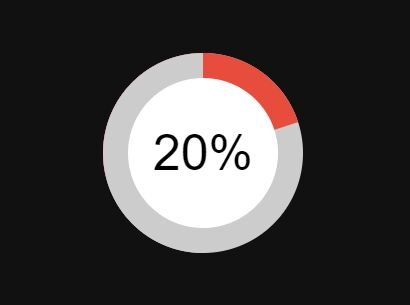 Animated Radial Progress Bar With jQuery And CSS3