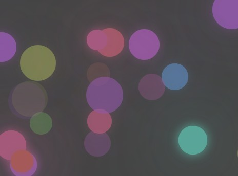 Random Bokeh Background with jQuery and Canvas - bokehBg