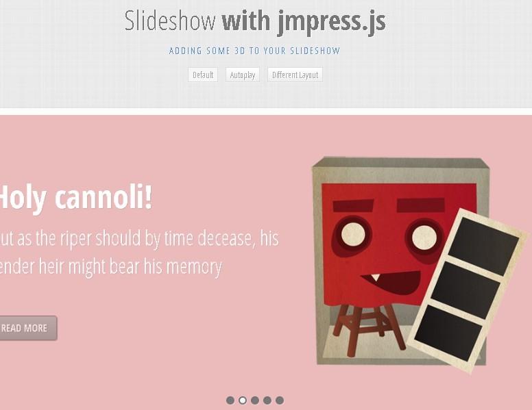 Responsive 3D Effects Slideshow Plugin | Free jQuery Plugins