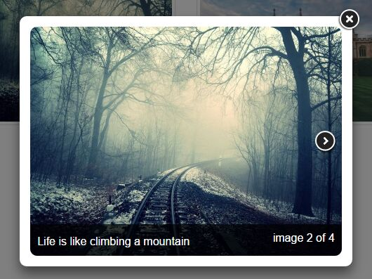 JQuery Lightbox Generator. Mobile-ready Responsive Lightbox Gallery
