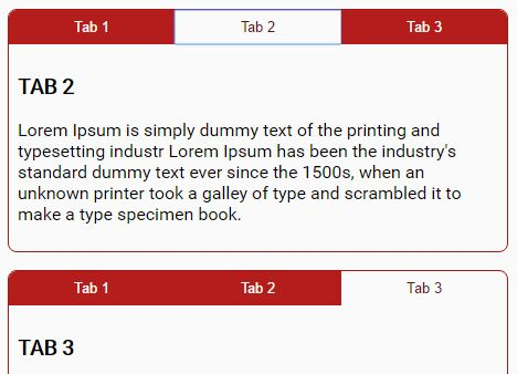 Responsive Accessible Tabs Plugin For jQuery - aria-tabs