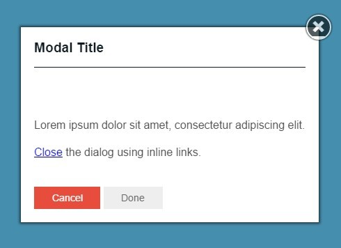 Responsive & CSS3 Animated jQuery Modal Plugin - JSModal