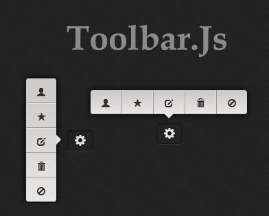 Responsive and Customizable Toolbar Plugin - jQuery Toolbar